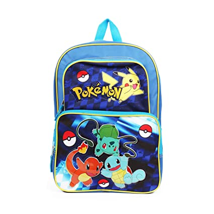 ed8971ebbb Amazon.com  New Pokemon Cargo 16 School Backpack  Sports   Outdoors