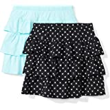 Pack of 2 Spotted Zebra Girls 2-Pack Knit Twirl Scooter Skirts