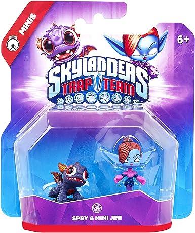 Skylanders: Trap Team - Minis 2. Pack 1 (Spry, Jini): Amazon.es ...