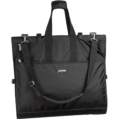 WallyBags Luggage 66  Tri-fold Destination Bag, Black