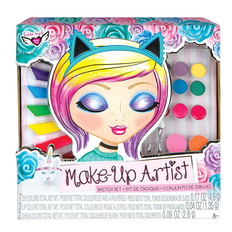 Fashion Angels 12169 Unicorn Magic Make-Up Artist Sketch Set, Multicolor