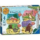 Ravensburger the Gruffalo 4 Shaped Jigsaw Puzzles (4,6,8,10pc)
