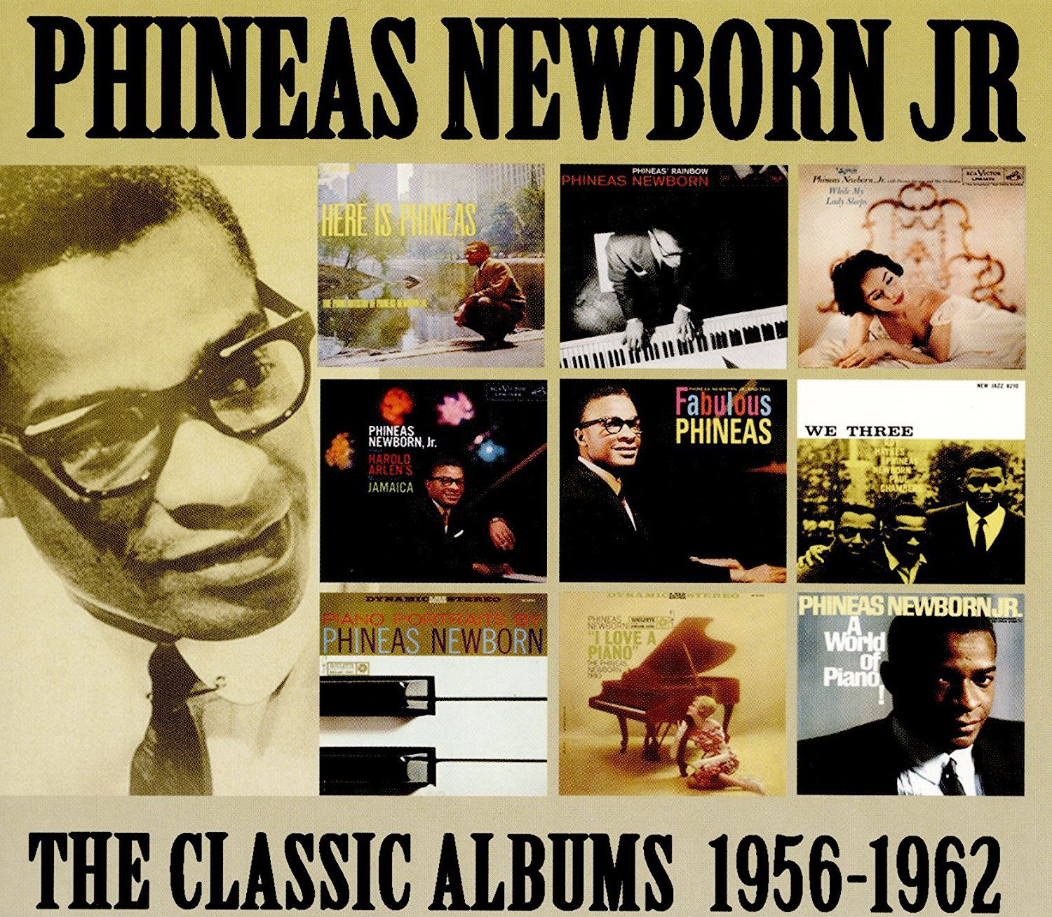 Phineas New Born Jr - Classic Albums 1956-62