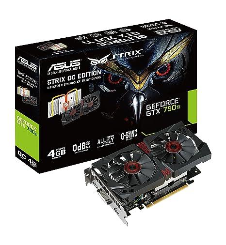 Amazon.com: ASUS strix-gtx750ti-dc2oc-4gd5 NVIDIA GeForce ...