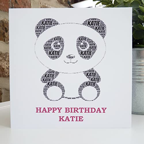 Amazon Personalized Panda Card