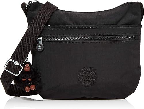 Kipling ARTO, Bolso Bandolera para Mujer, Negro (True Black), 29x26x4 cm: Amazon.es: Zapatos y complementos