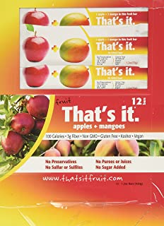 product image for That's It Apple Bar, Mango, 12 Count