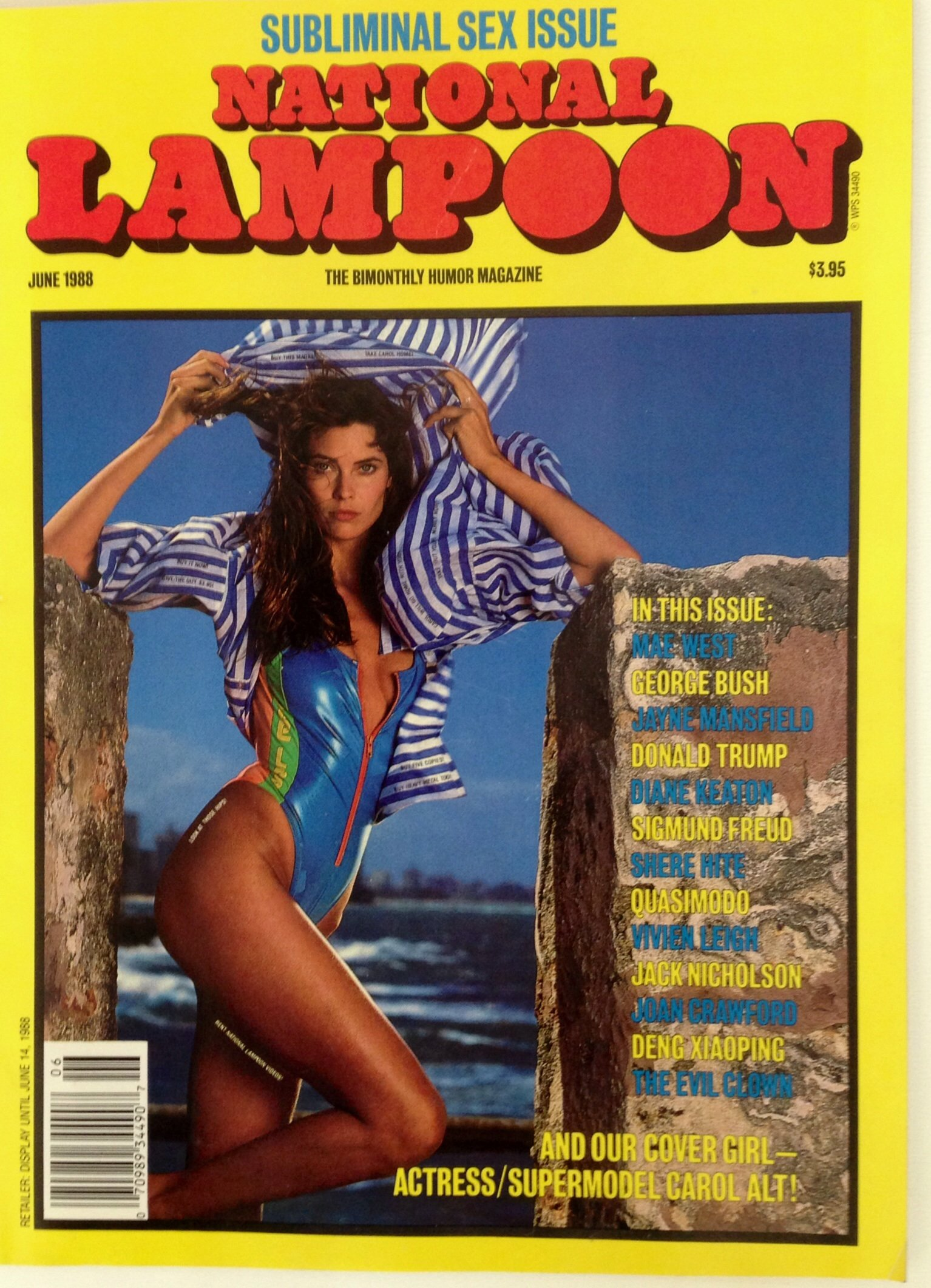 National Lampoon June 1988 (Subliminal Sex Issue) Paperback – 1988