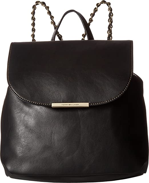 37cae71666a5 Tommy Hilfiger Women s Petra Backpack Black Backpack  Amazon.ca  Clothing    Accessories