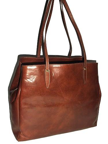43909d853d218 The Bridge Story Donna Shopper Tasche Leder 38 cm  Amazon.de  Schuhe    Handtaschen