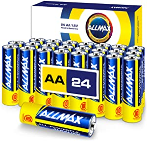 ALLMAX All-Powerful Alkaline Batteries - AA (24-Pack) - Premium Grade, Ultra Long Lasting and Leak-Proof with EnergyCircle Technology (1.5 Volt)