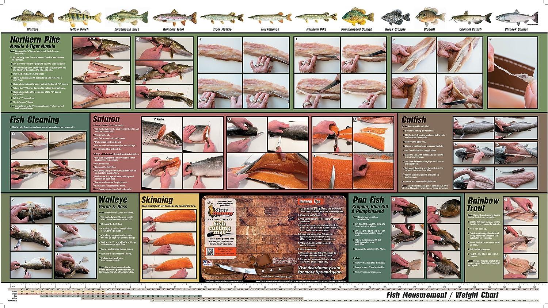 Amazon Fish Dummy Thin Flexible Cutting Board Mat With