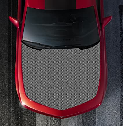 Amazon com: Avery H111 DIAMOND PLATE - HOOD WRAP - Wraps Decal