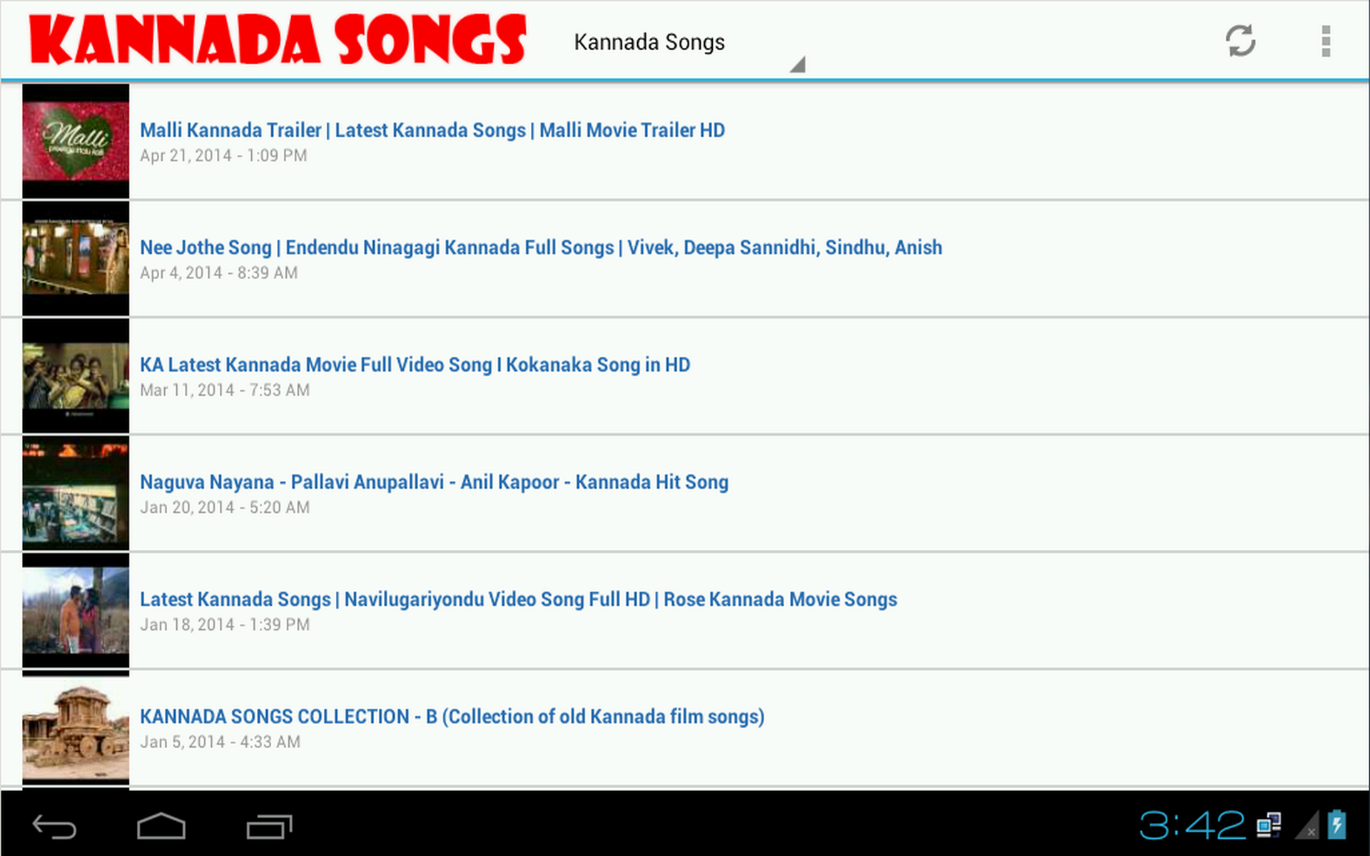 Amazon com: Kannada Songs and Radio: Appstore for Android