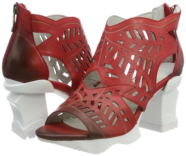 Laura Vita Damen Armance 35 (Rouge) Offene Sandalen, Rot (Rouge) 35 a3aa5e