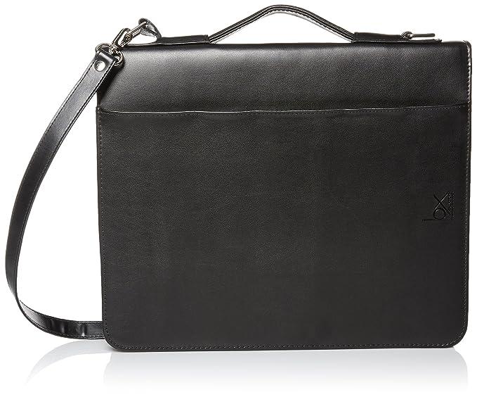 70112ccd79 Amazon.com  Buxton Men s Leather Zip-Around Padfolio W Calculator ...
