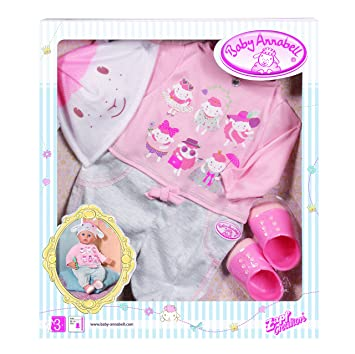 67f64299b6c00d Zapf Creation Baby Annabell Deluxe Casual Day Set  Zapf Creation ...