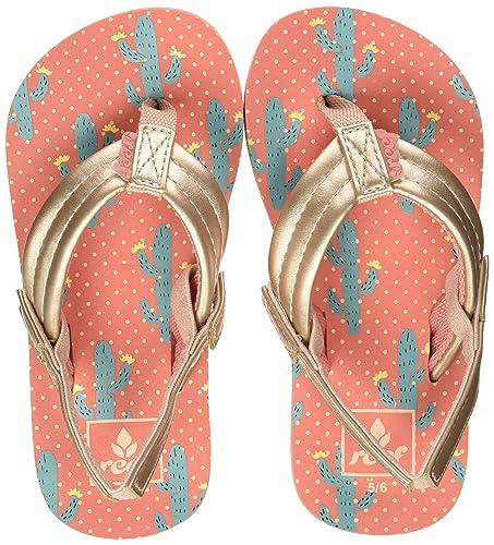 c837660ac Reef Girls  Little Ahi Flip Flops