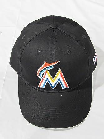 d6b0b4d3f MLB Replica Adult Baseball Cap Various Team Trucker Hat Adjustable MLB  Licensed , Miami Marlins - Home