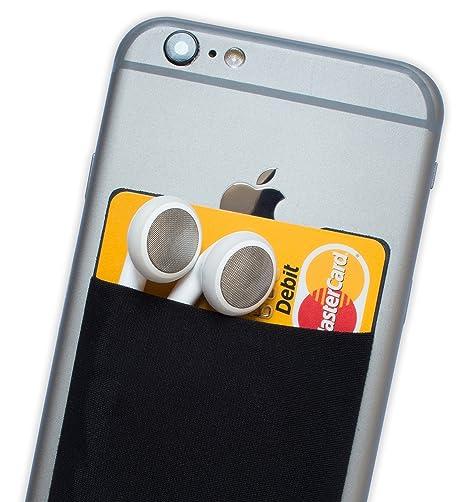99a524e79 Atkolé Wallet - Funda-Cartera Adhesiva (con pegamento) para Celular con  cinta adhesiva