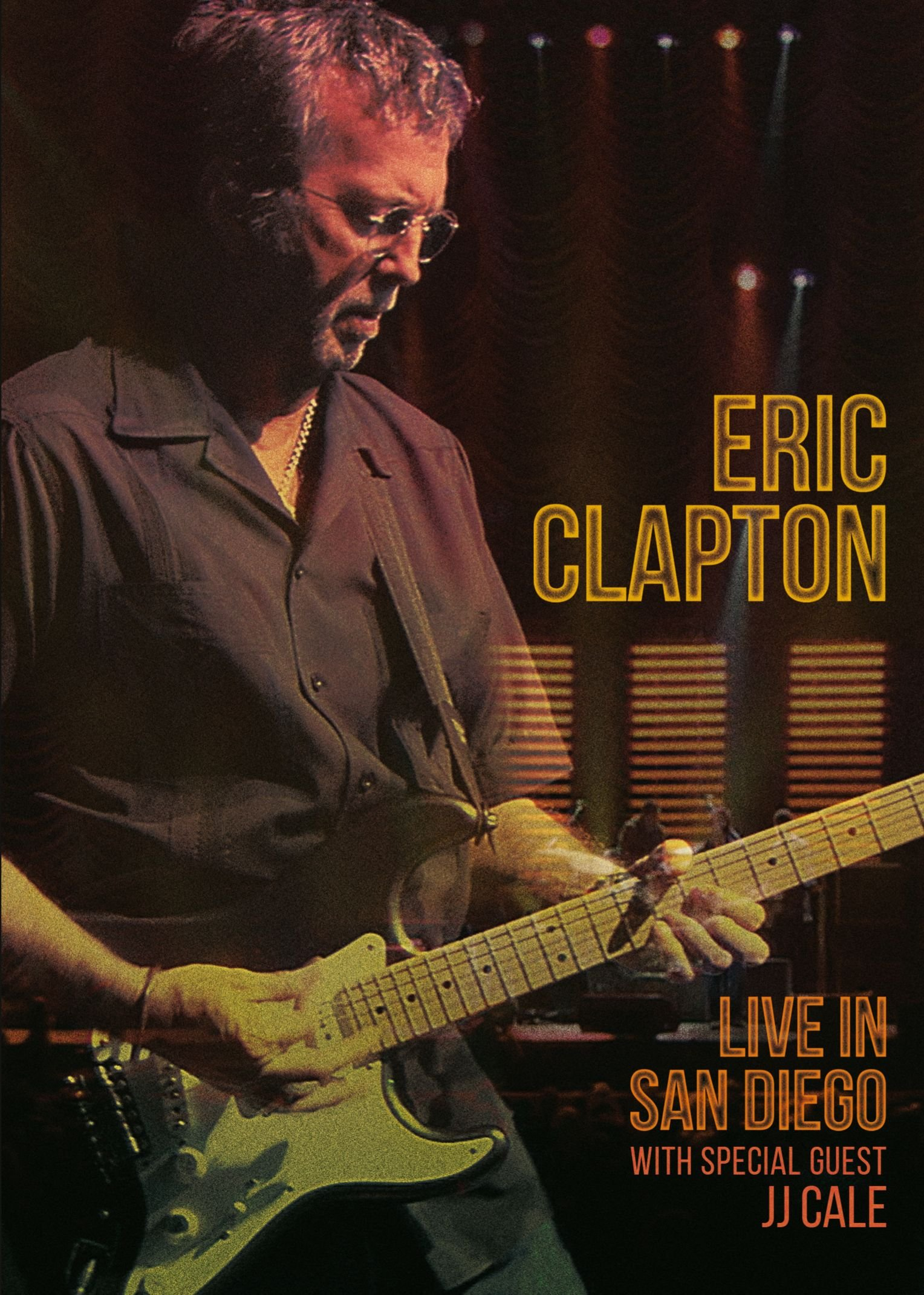 DVD : Eric Clapton - Live In San Diego (With Special Guest JJ Cale) (DVD)