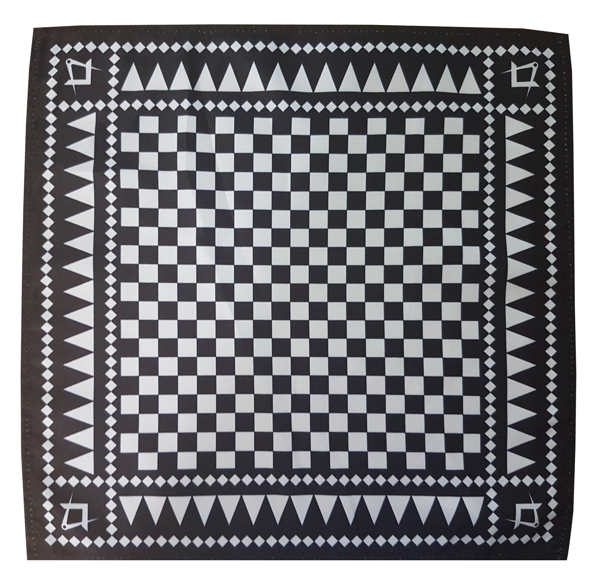 Freemasons Masonic Handkerchief Pocket Square S/&C