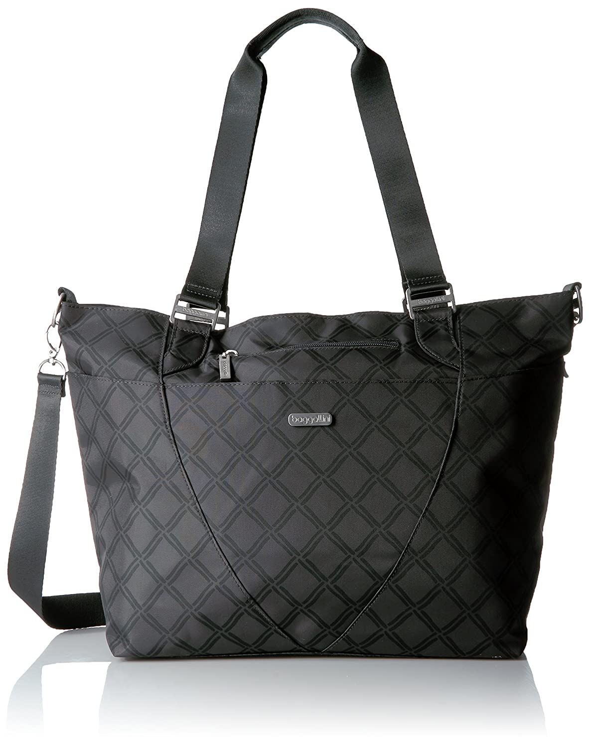 Baggallini AVE252U-CHL Avenue Travel Tote, Charcoal Link, One Size FAT17 AVE252B0053