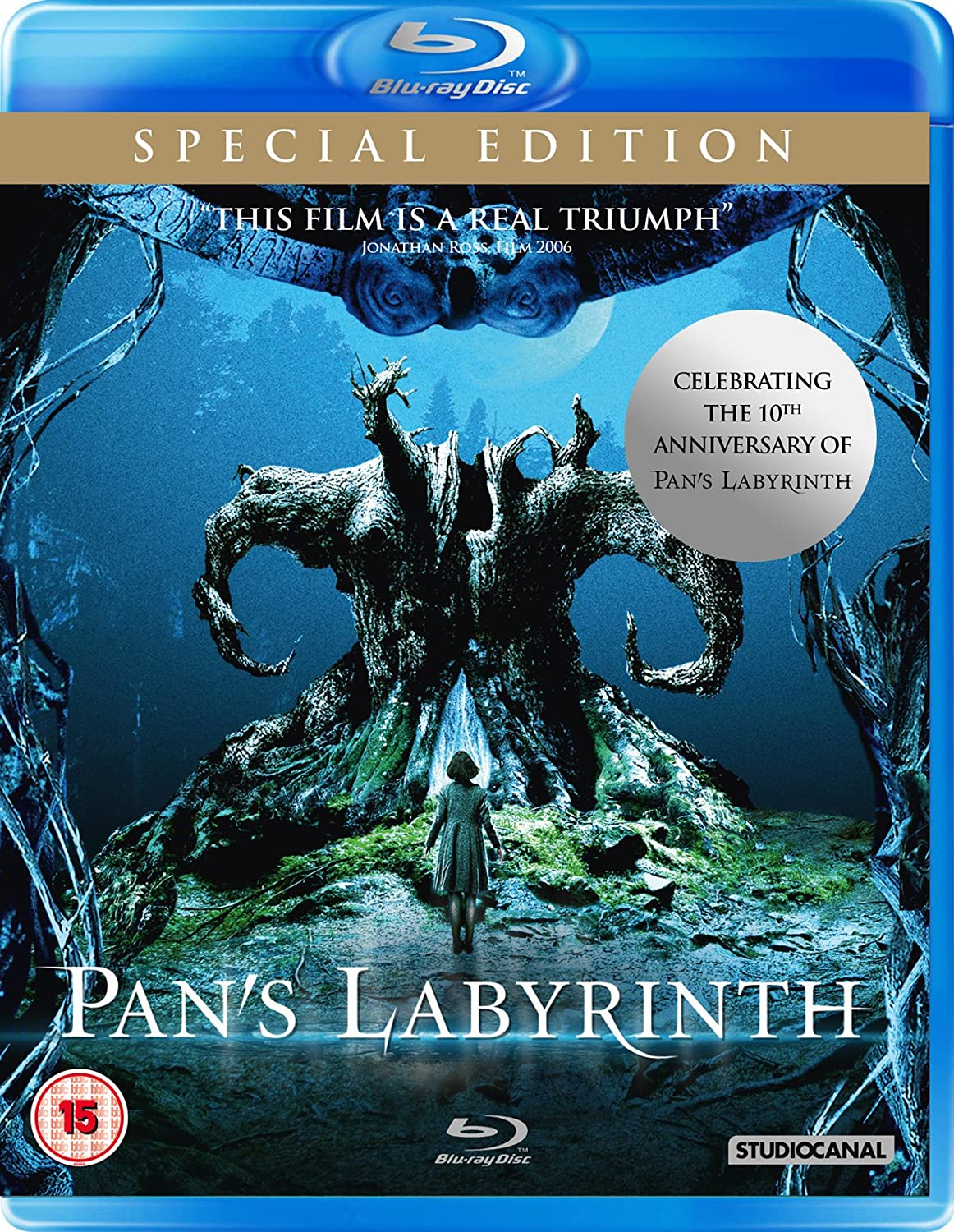 Pan's Labyrinth (Special Edition) [Blu-ray] [Region2] Requires a Multi Region Player