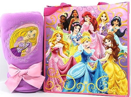 Disney Tangled Rapunzel Fleece Throw Blanket Princess Tote Gift Cool Rapunzel Throw Blanket