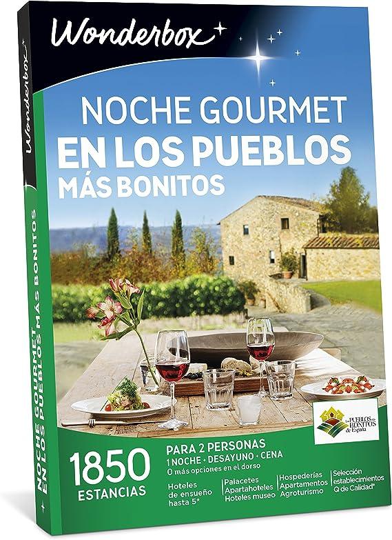 WONDERBOX Caja Regalo -Noche Gourmet EN LOS PUEBLOS MÁS Bonitos ...