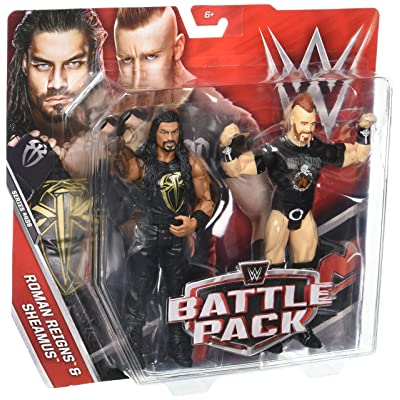 WWE Roman Reigns & Sheamus Action Figure (2 Pack): Toys & Games