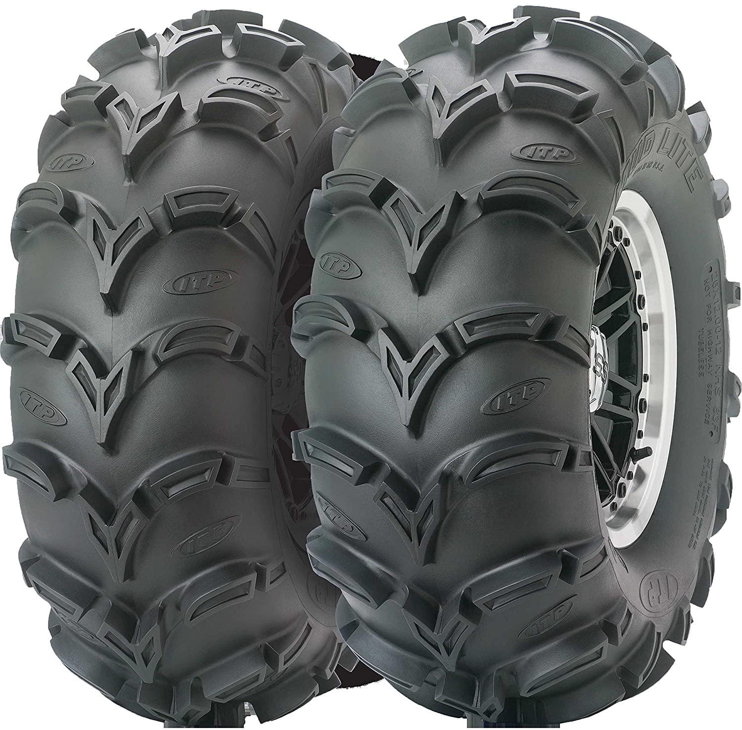 ITP Mud Lite AT Mud Terrain ATV Tire 24x9-11