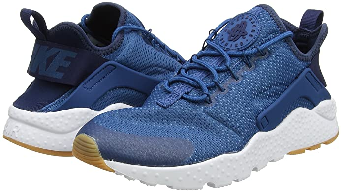 the best attitude 6c111 29a67 Amazon.com   Nike Women s Air Huarache Run Ultra Industrial Blue Midnight  Navy 819151-403   Road Running