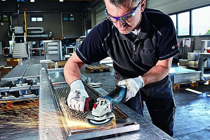Bosch GWS 19-125 CIST Professional - Miniamoladora, 125 mm, 1900 W, KickBack-Stop, empuñadura adicional, caperuza protectora: Amazon.es: Bricolaje y ...