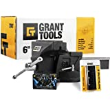 """Grant Tools Light Duty Swivel Bench Vise (4"""" and 6"""" Available) 
