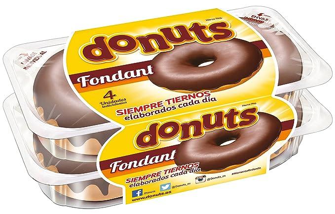 Donuts Fondant - Paquete de 4 x 55 gr - Total: 220 gr