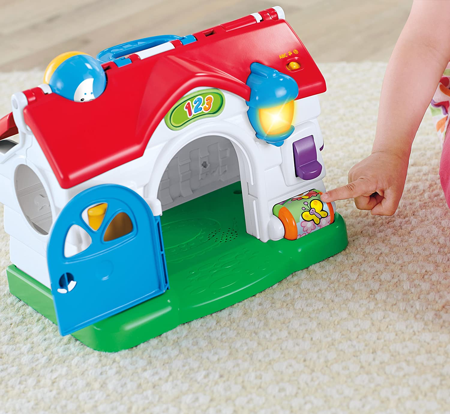 Fisher-Price Laugh /& Learn Puppys Activity Home BFK52