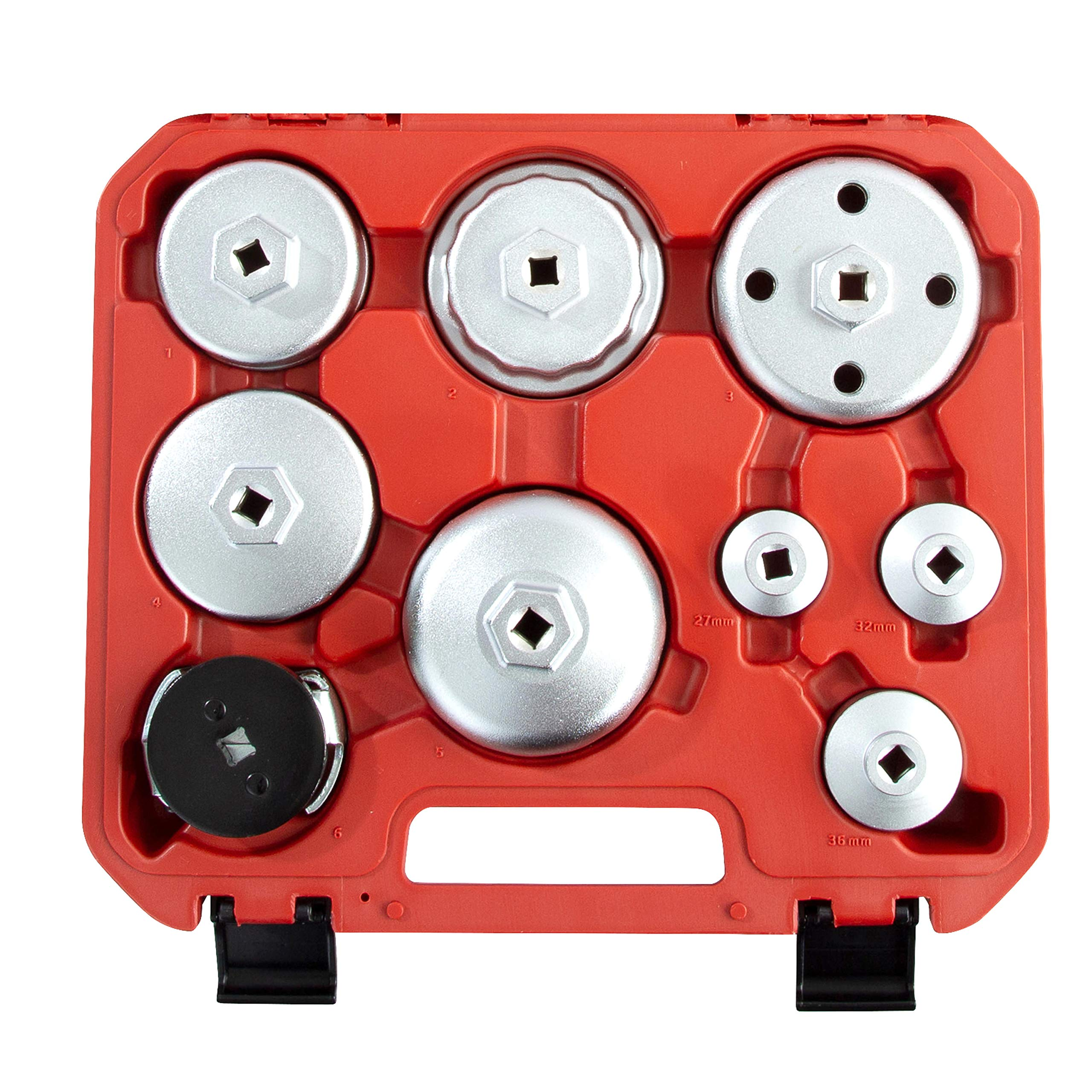 OEMTOOLS 27199 Oil Filter Cap Wrench Set (9 Piece) by OEMTOOLS (Image #2)
