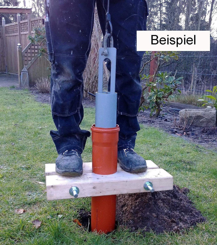 Anwendung Plunscher beim Brunnenbau