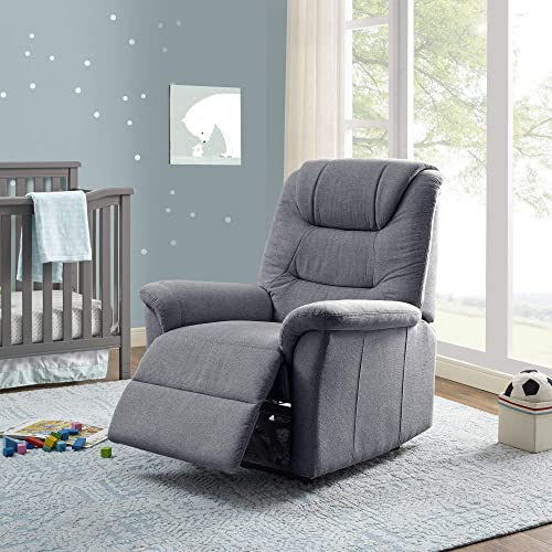Classic Brands Lennox Popstitch Upholstered Recliner Chair