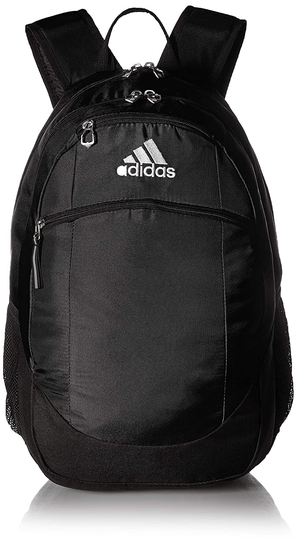 8e8decaa435 Amazon.com: adidas Striker II Backpack, Black/White, One Size: Clothing