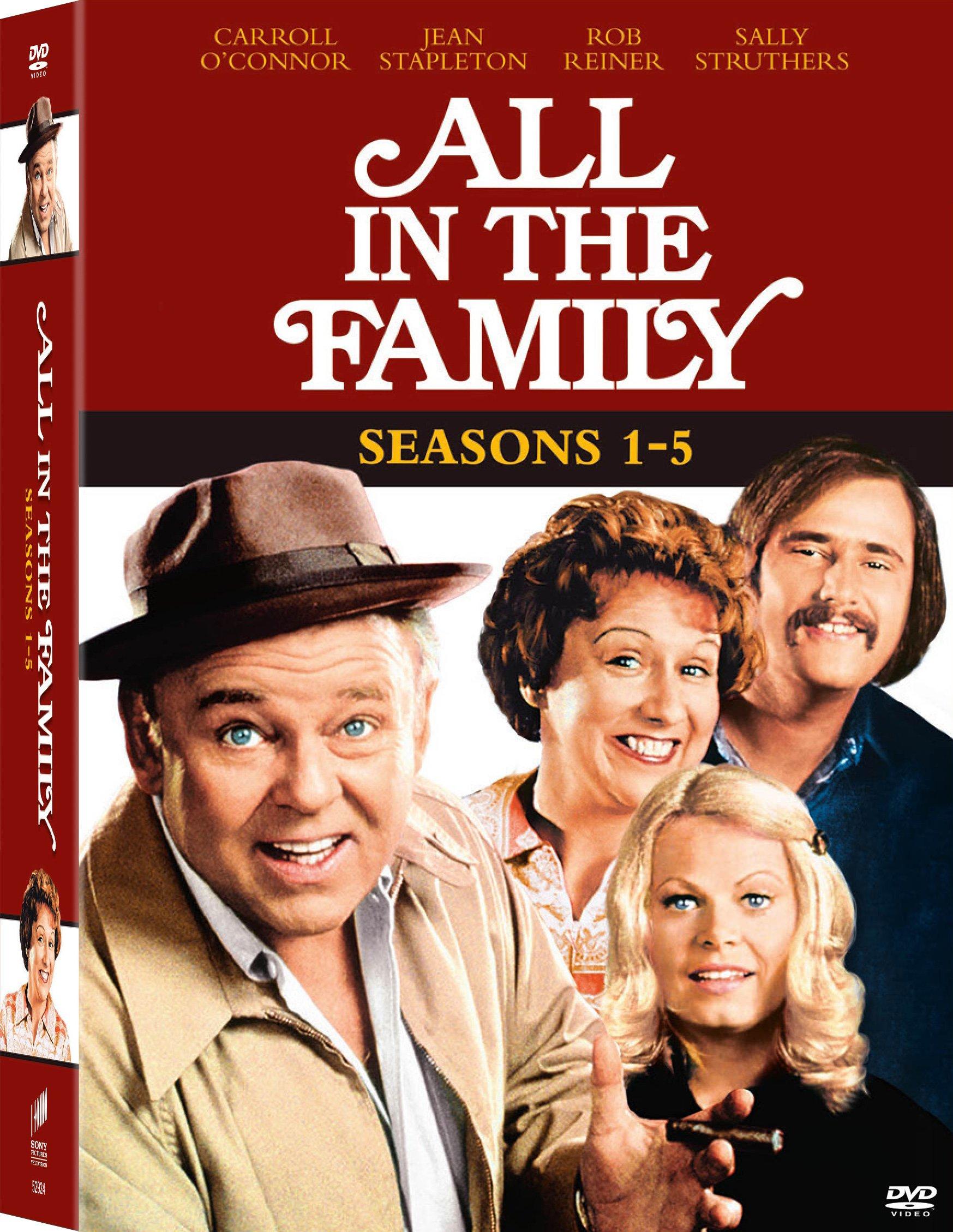 DVD : All in the Family: Seasons 1-5 (Full Frame, Boxed Set, , 15 Disc)