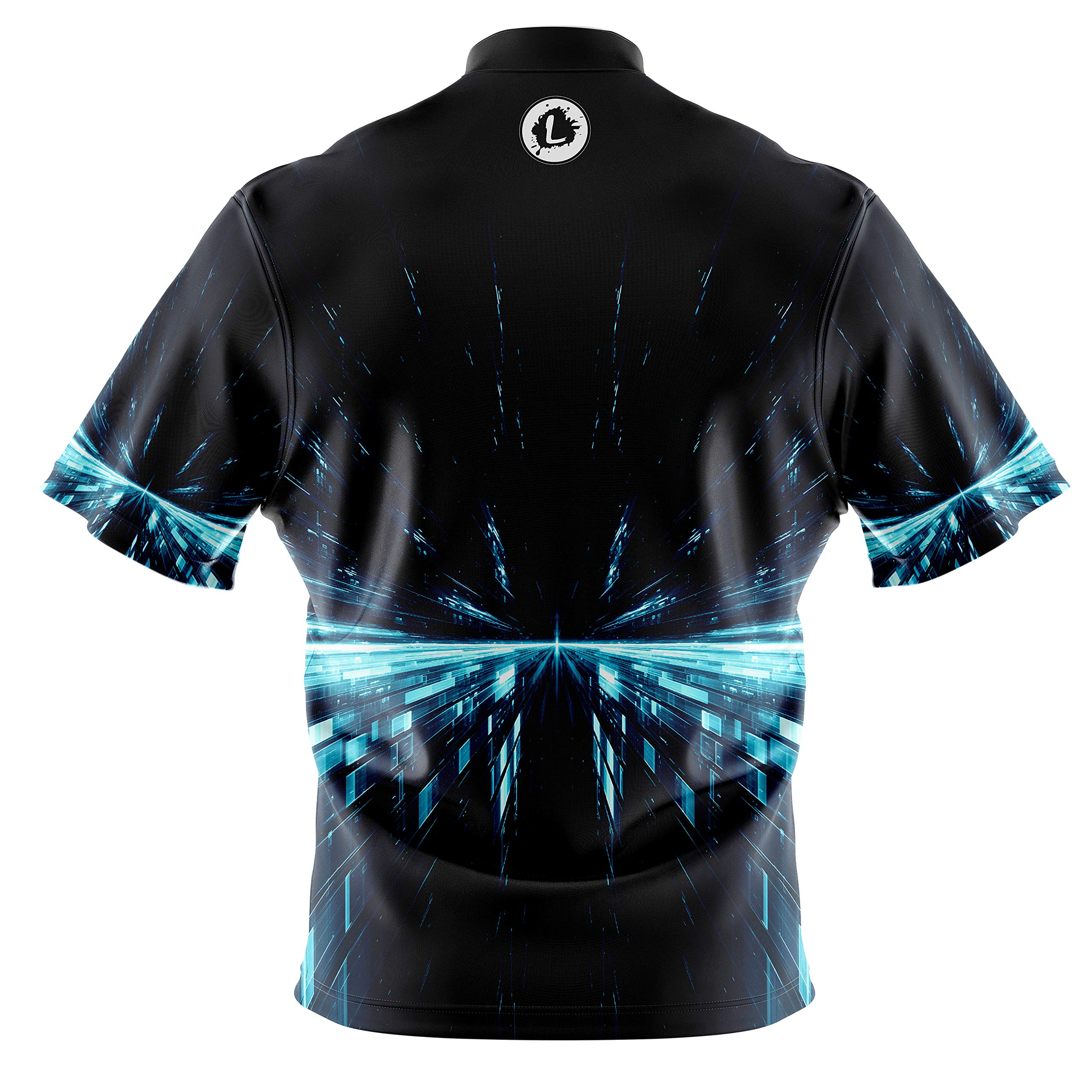 Image #2: Logo Infusion Bowling Dye-Sublimated Jersey (Sash Collar) - Roto Grip Style 0360 - Sizes S-3XL (L) by Logo Infusion