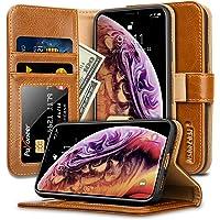 JisonCase iPhone X/Xs Leather Wallet / Flip Case (Multi Color)
