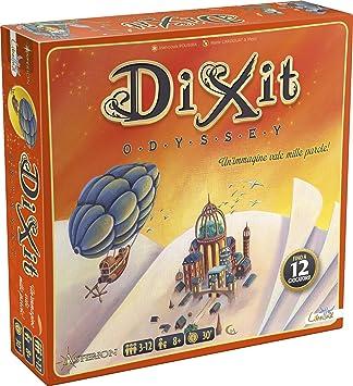 Varie Asterión 8005 - Dixit Odyssey, Italiano Edition. Juego de Mesa [Nueva versión]: No Name: Amazon.es: Juguetes y juegos
