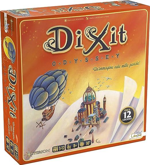 155 opinioni per Asterion 8005- Dixit Odyssey, Edizione Italiana. Gioco di società [nuova