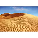 Deserto dune di sabbia FOTOMURALE - paesaggio di sabbia quadro Africa savana - XXL paes aggio desertico decorazione da parete by GREAT ART (210 x 140 cm)