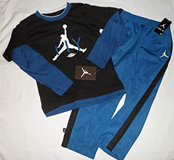31e93f0b5f8b7b Image Unavailable. Image not available for. Color  Nike Air Jordan FLY  Jumpman Logo Toddler Boys Shirt Pants ...