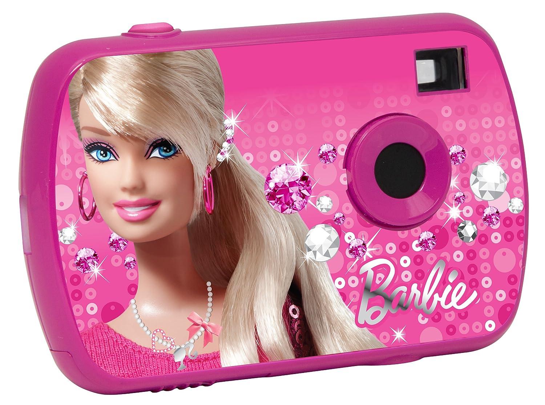 Barbie - Cámara digital de 1.3 MP, color rosa (Lexibook DJ017BB) LE-DJ017BB_- camara