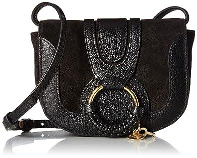 cf12d13d Amazon.com: See by Chloe Women's Hana Small Leather Crossbody Bag ...